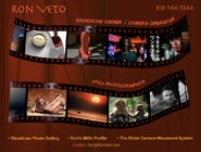 Home page for Ron Veto