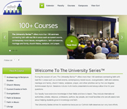 Home page for The University Series